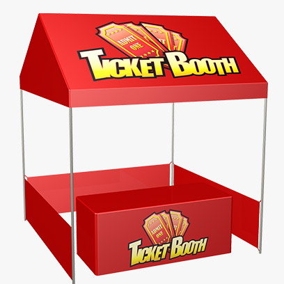 sc 1 st  Interactive Game Warehouse & Ticket Booth Tent Package