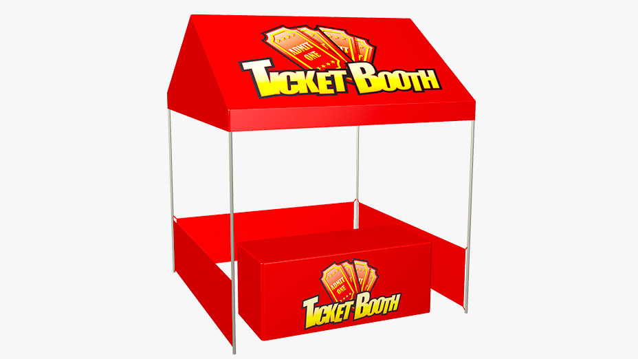 Ticket Booth Tent Package  sc 1 st  Interactive Game Warehouse & Booth Tent Package